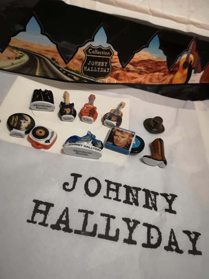Fèves Johnny Hallyday 50461310