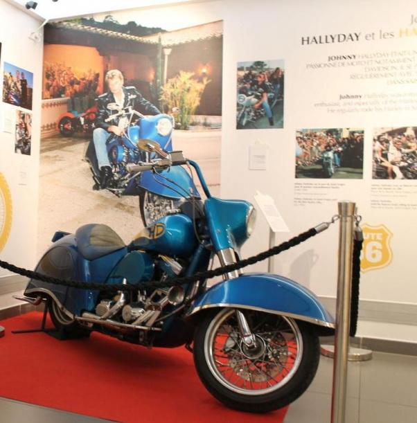 Une exposition sur Johnny Hallyday s'installe pour un an à Saint-Tropez 80913810