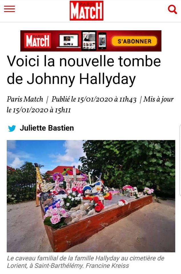 La tombe de Johnny déplacée 83078710
