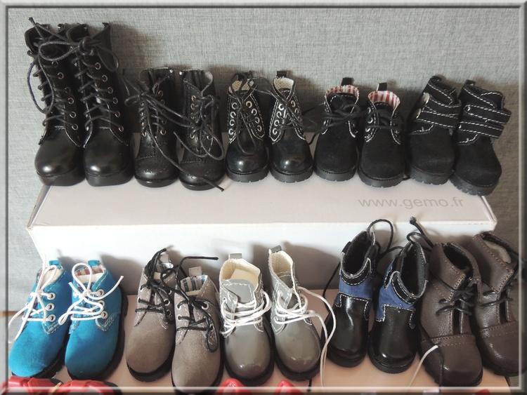 Chaussures des choupettes à QUENTIN  3a20