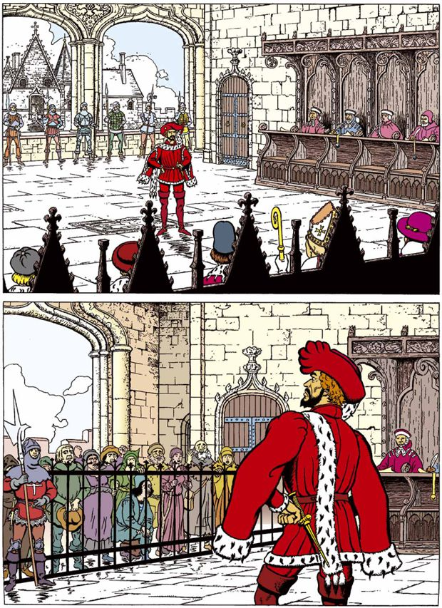 """Le """"voyage"""" de Gilles de Rais Gilles15"""