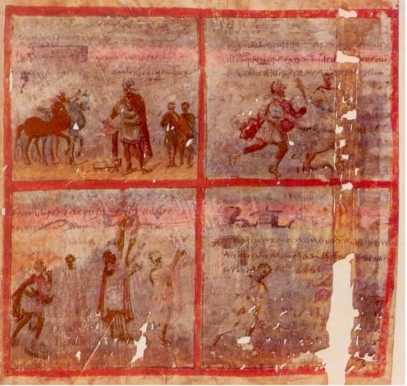 Les bédés de l'Empire Romain Quedli10