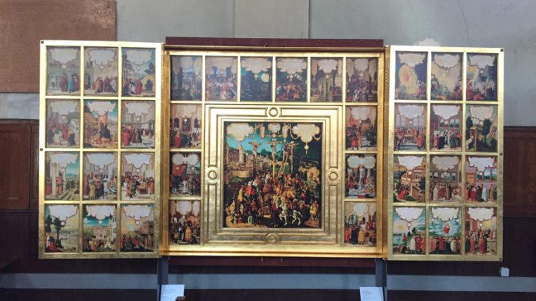 L'ère de l'imprimerie et de l'estampe (du 16ème au 18ème siècle) Retabl10