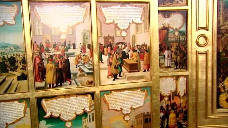 L'ère de l'imprimerie et de l'estampe (du 16ème au 18ème siècle) Retabl11