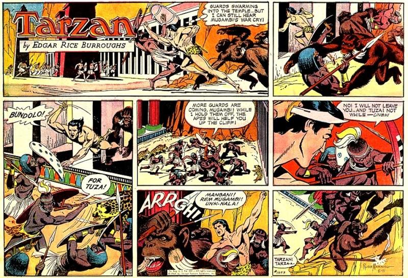 Tarzan par Russ Manning : réédition - Page 2 Tarzan10