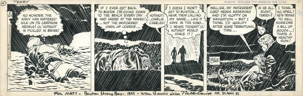 Terry et les pirates de Milton CANIFF - Page 7 Caniff12