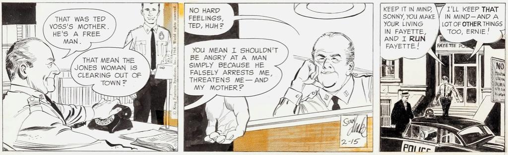 Stan Drake, le marathonien des planches - Page 6 Juliet10