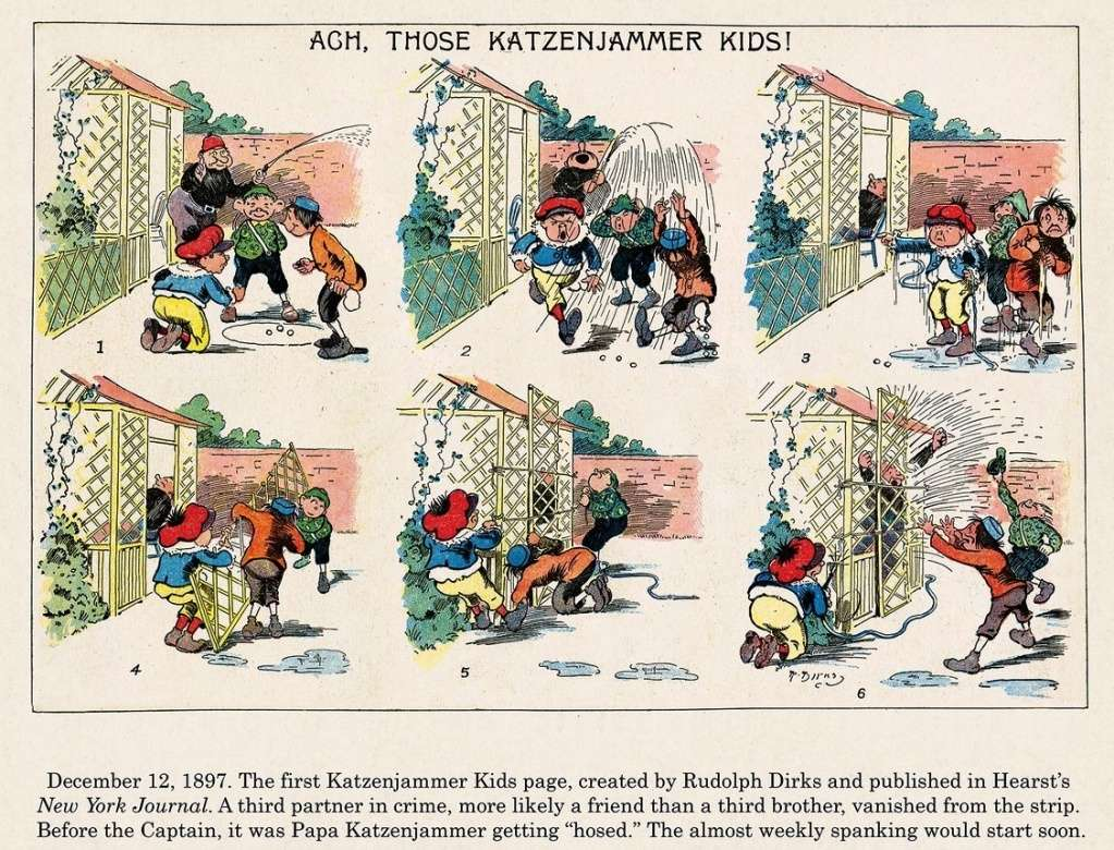 The Katzenjammer Kids (Pim Pam Poum) - Page 5 Katzen10