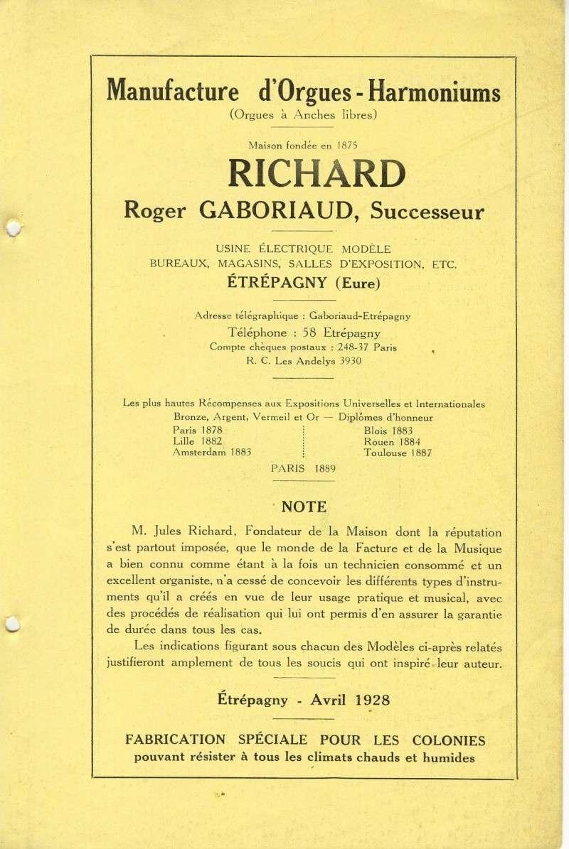 Catalogue Richard 1928 Numari11