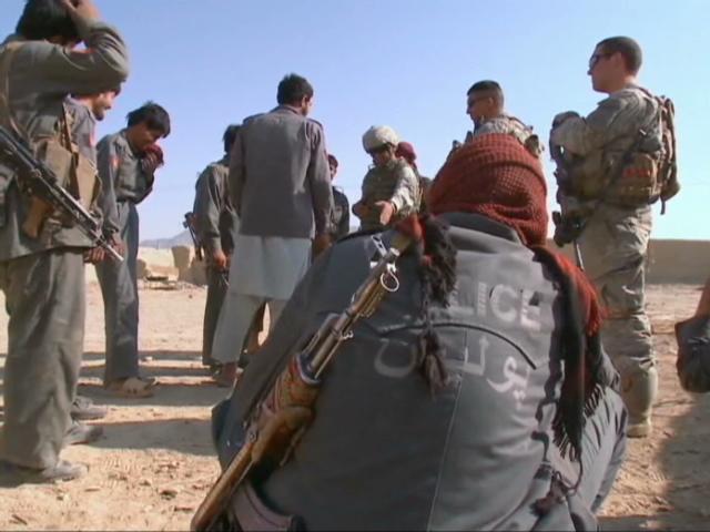 Afghan National Police Windbreaker Lawren10
