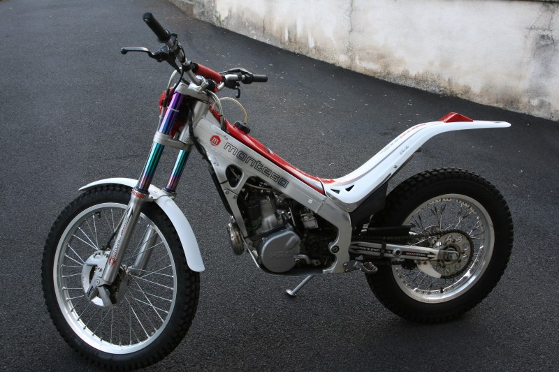 A vendre - MONTESA COTA 315R - AM 2004 - Kit déco blanc M000110