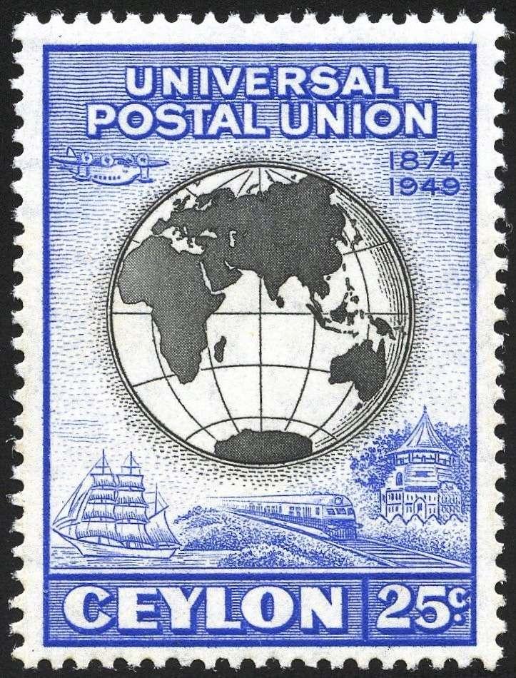 75 Jahre Weltpostverein - Seite 3 C310