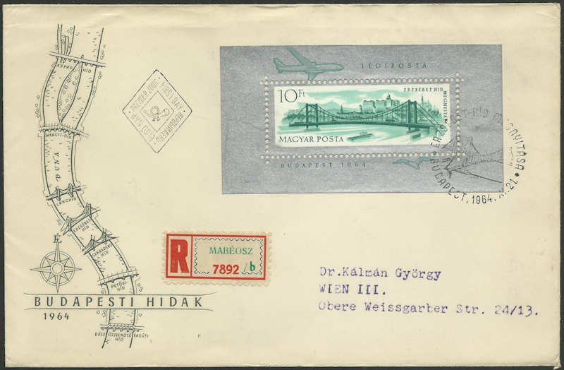 Brücken auf Briefmarken - Seite 2 Elisab11