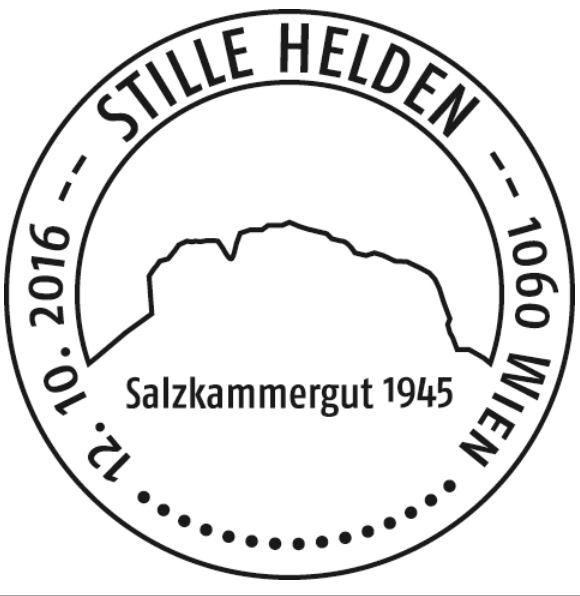 """1945 - Sondermarke """"Stille Helden - Rettung der Kunstschätze, Salzkammergut 1945"""" Helden11"""