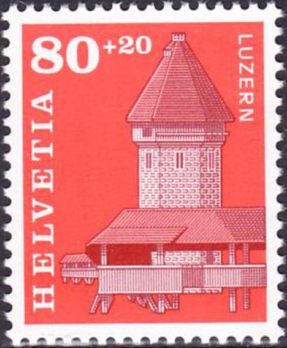 Brücken auf Briefmarken - Seite 2 Luzern10