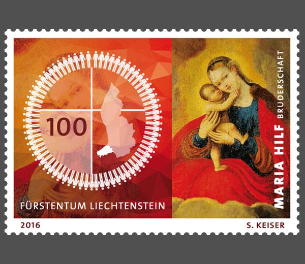Liechtenstein 2016 - Ausgabetag 5. September Mariah10