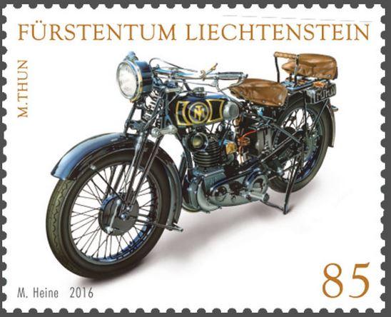 Liechtenstein - Liechtenstein 2016 - Ausgabetag 5. September Motorr10