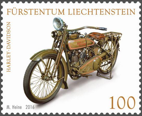 Liechtenstein - Liechtenstein 2016 - Ausgabetag 5. September Motorr11