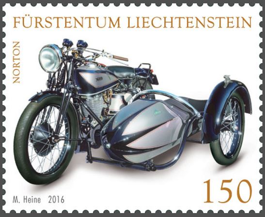 Liechtenstein - Liechtenstein 2016 - Ausgabetag 5. September Motorr12