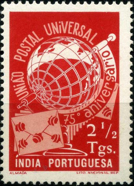 ungarn - 75 Jahre Weltpostverein - Seite 2 Portin10