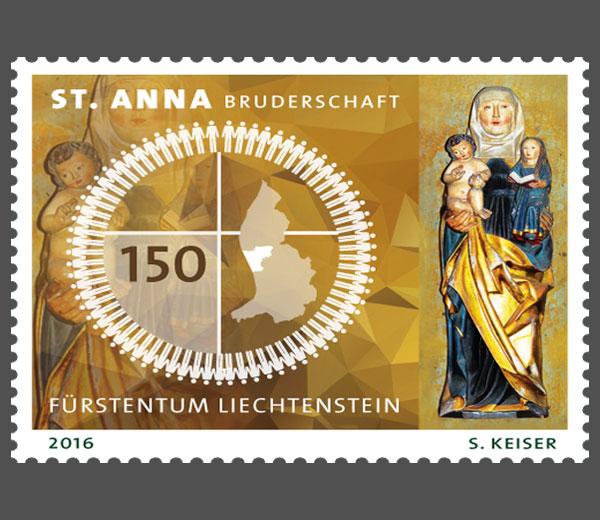 Liechtenstein - Liechtenstein 2016 - Ausgabetag 5. September Stanna11