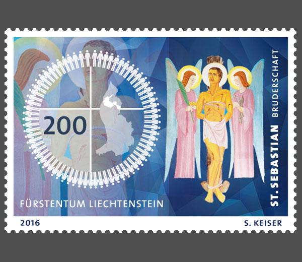 Liechtenstein - Liechtenstein 2016 - Ausgabetag 5. September Stseba10