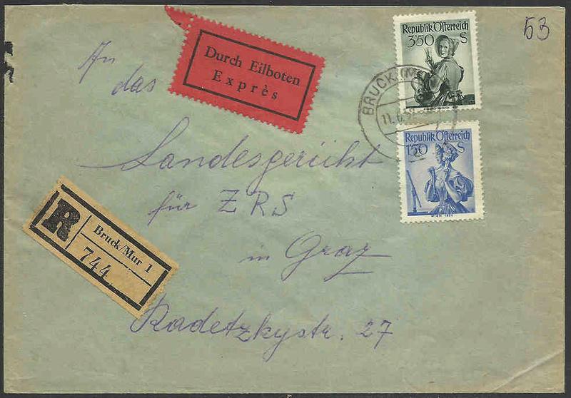 Trachtenserien ANK 887 - 923 und 1052 - 1072 Belege - Seite 9 Tracht10