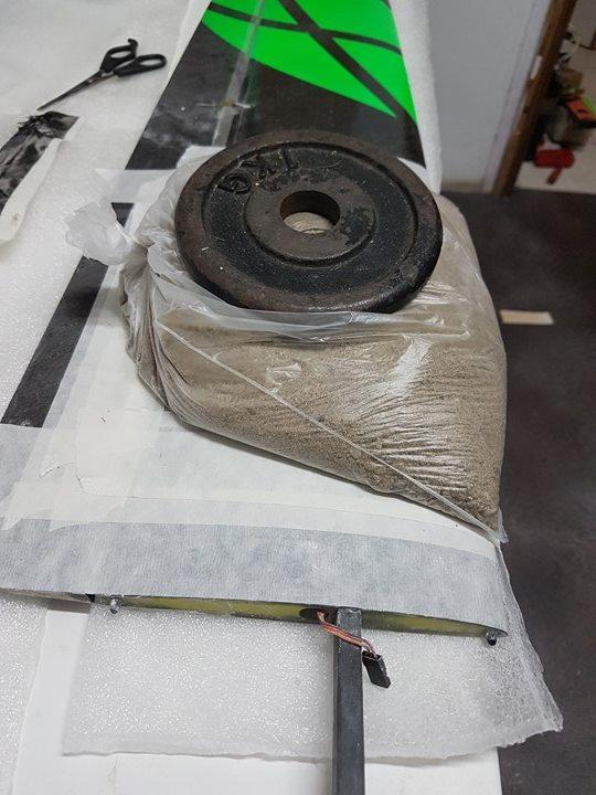 ULTIMA Réparation aile mousse 14081011