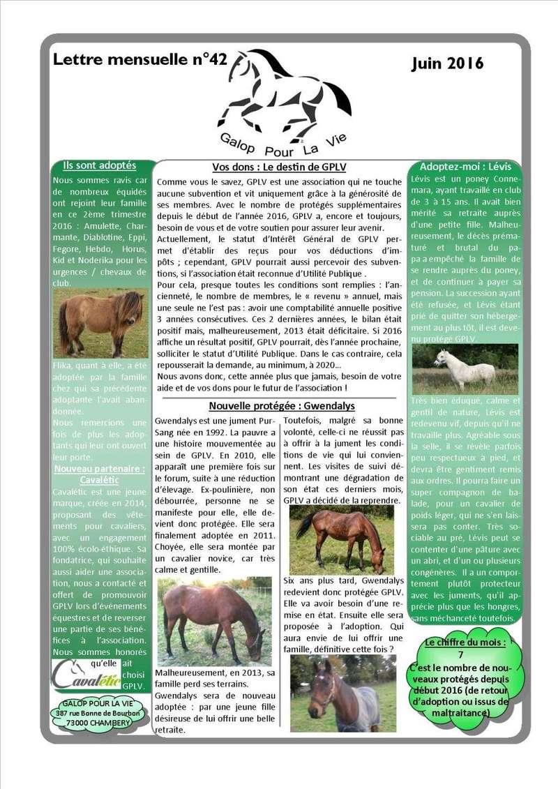 GPLV - Lettre Mensuelle n°42 - Juin 2016   Nl_jui19