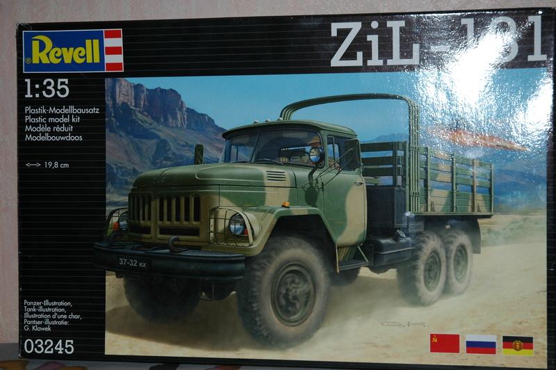 Le ZIL 131 Revell ICM au 1/35ème Dsc_0020