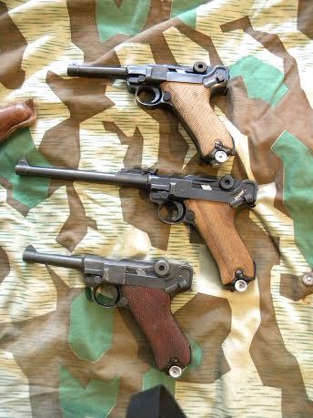 Réflexions sur la production de pistolets Luger P 08, par Mauser, en 1945-1946. - Page 3 Faces_10