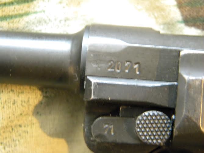 Réflexions sur la production de pistolets Luger P 08, par Mauser, en 1945-1946. - Page 3 Nc207110