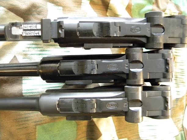 Réflexions sur la production de pistolets Luger P 08, par Mauser, en 1945-1946. - Page 3 Trois_10