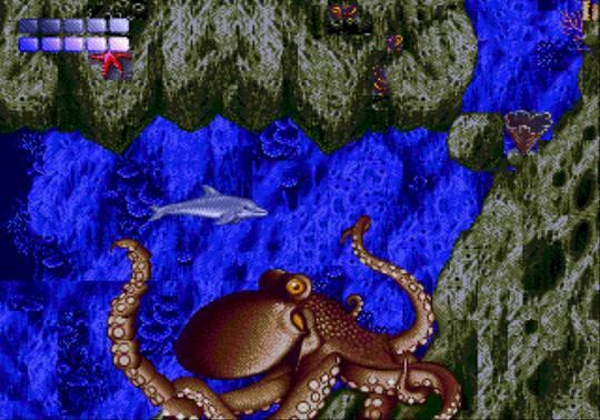 [MegaDrive] Ecco the dolphin 1012