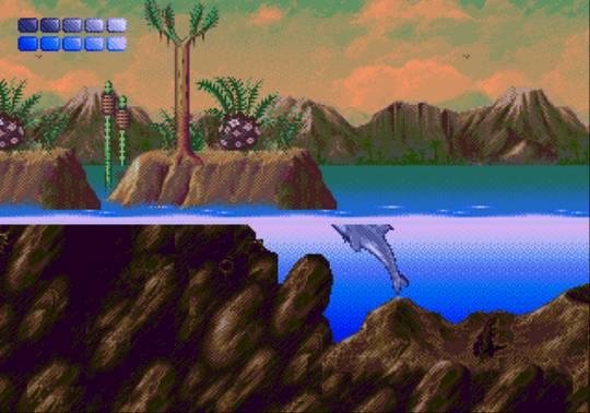 [MegaDrive] Ecco the dolphin 1413