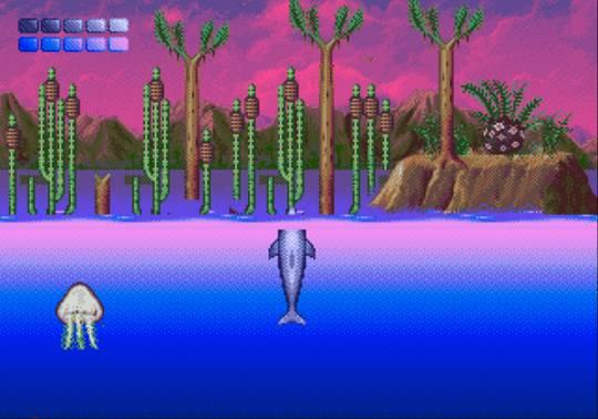 [MegaDrive] Ecco the dolphin 1511