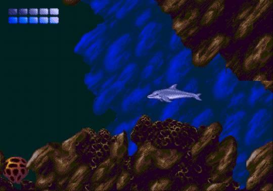 [MegaDrive] Ecco the dolphin 1612