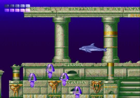 [MegaDrive] Ecco the dolphin 1811
