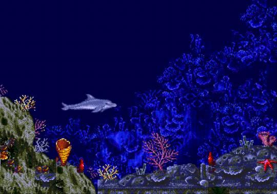 [MegaDrive] Ecco the dolphin 315
