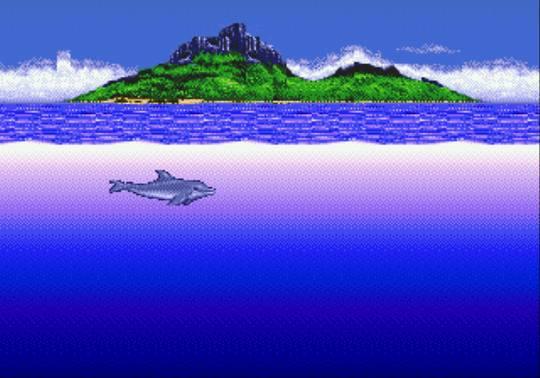 [MegaDrive] Ecco the dolphin 514