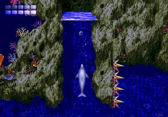 [MegaDrive] Ecco the dolphin 614