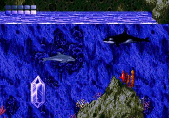 [MegaDrive] Ecco the dolphin 813