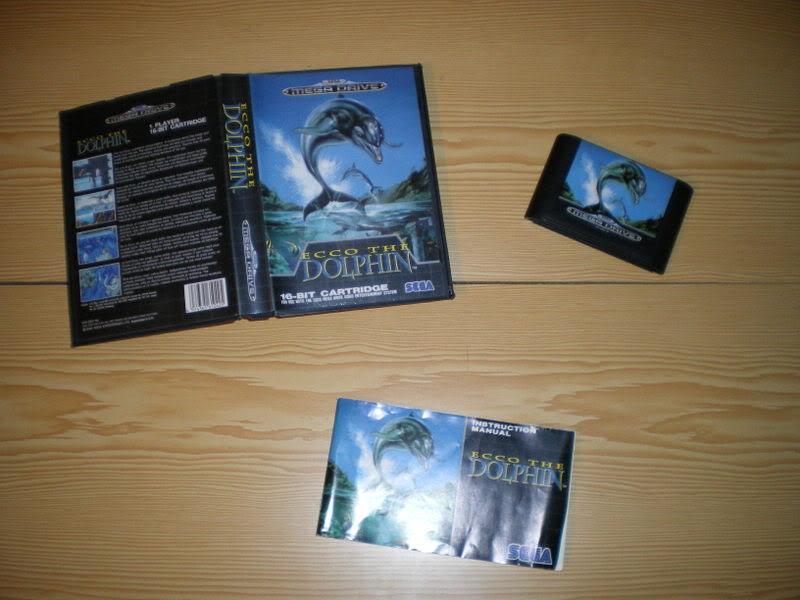[MegaDrive] Ecco the dolphin Imgp0210