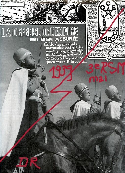 Les Spahis de 1935-40 au travers de l'iconographie 3rsm2710