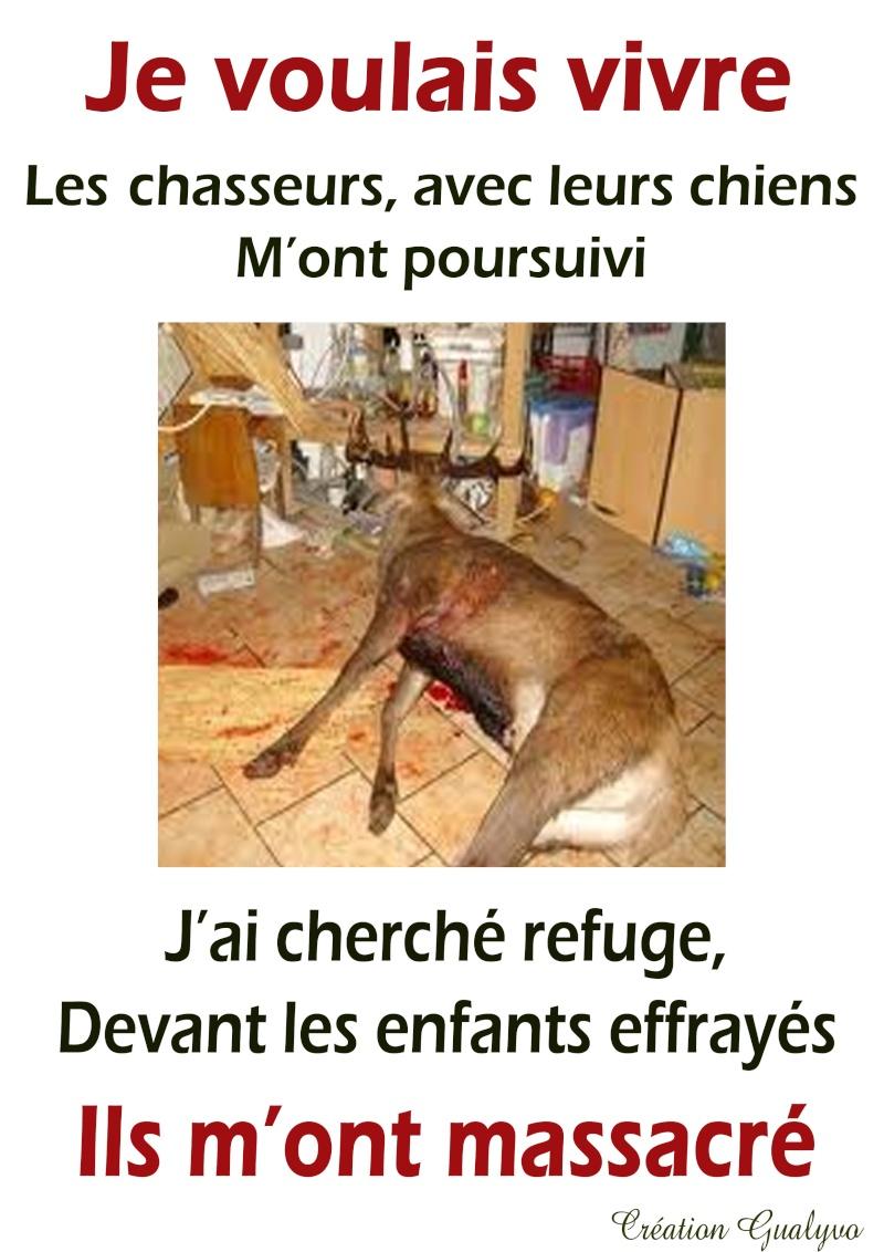"""Rendez-vous à PARIS le 21 Septembre pour dire """"NON"""" à la chasse !!! Aff_ra10"""