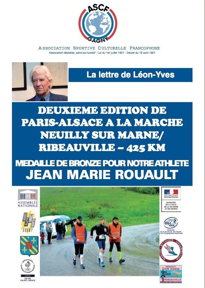 Paris Alsace 2016 classement  Lettre15