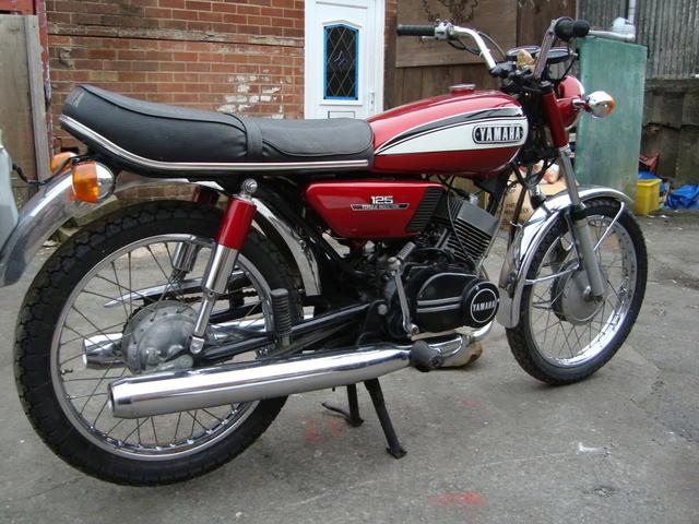 Honda 250 NX Yamaha10