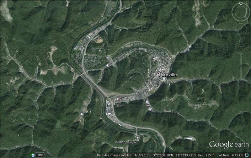 """Le """"Cut-Through"""" de Pikeville : ou comment la volonté d'un homme a déplacé une montagne... Pikevi10"""
