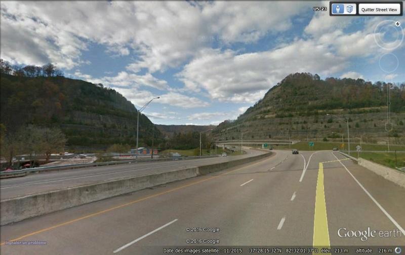 """Le """"Cut-Through"""" de Pikeville : ou comment la volonté d'un homme a déplacé une montagne... Pikevi12"""