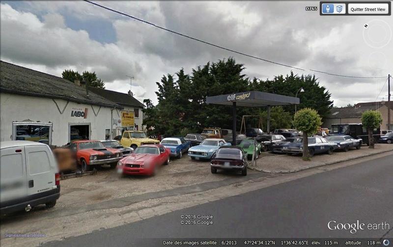 STREET VIEW : les vieilles voitures américaines - Page 2 Voitur10